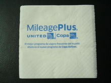 cocktail napkin tissue