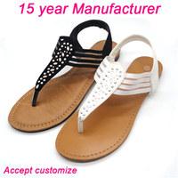 with diamond children design beach sandals