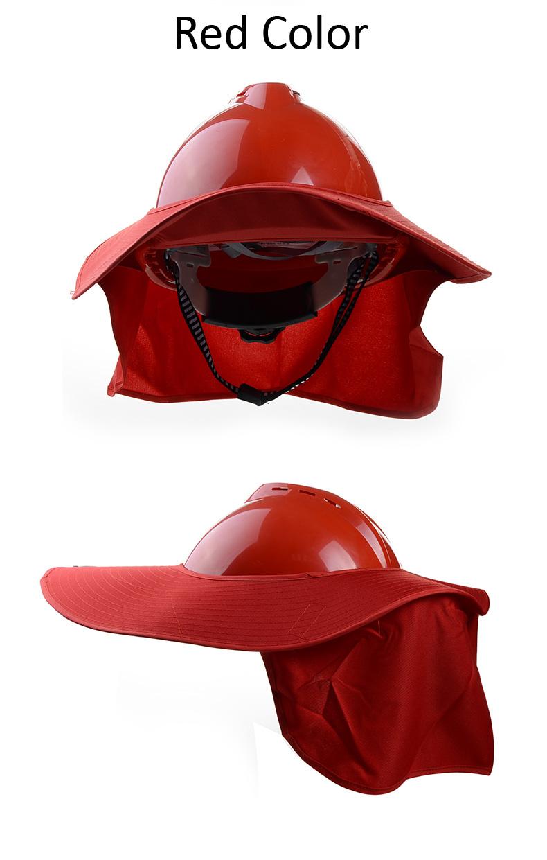 red color brim