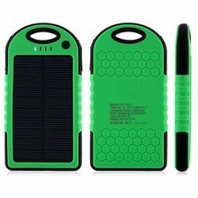 10000mAh Portable Solar Panel Power Bank External Battery Charger For Cell Phone