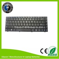 Original US R519 Laptop Keyboard for Samsung R518 R519 Series , Black , No backlit laptop keyboard