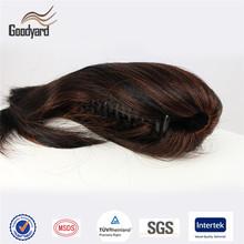 Wholesale Kanekalon heat resistant synthetic claw clip ponytail