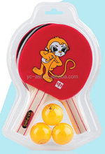 China manufacture long handle table tennis racket