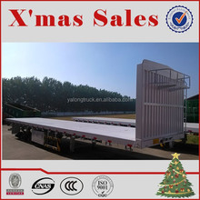 China 3 axles 40FT flatbed trailer