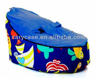 Baby Bean Bags - Fish base blue top, toddler tops infant beanbag chair