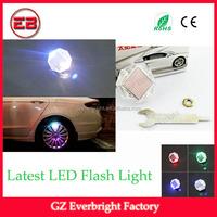 New design solar power wheel tire valve cap flash led light led car wheel lights flash light