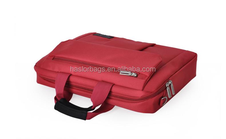 2015 rouge haute qualité sacoches pour ordinateurs portables de marque portable sacs