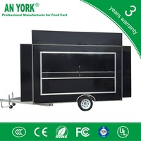 FV-55 best hot dogs kiosk food service ca food truck in malaysia steel food cart