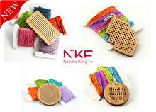 NKF Cross stitch pendant