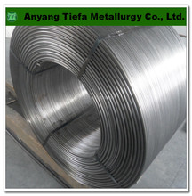 High quality melting iron deoxidizer pure Calcium cored wire