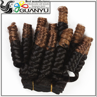 6A grade 100% natural Malaysian virgin Human hair low price,crazy curl two tone 1b/30 Human hair extensions for black women
