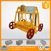 cement brick maker QMY4-30B small mobile brick machine machine for concrete brick