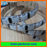 Hot led product 2 year warranty taiwan epistar chip rgb 60leds/m pixel flex lpd8806 led strip