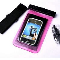 Magic with clip and arm belt waterproof case for samsung note 2
