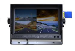 7 inch quad screen car dvr 4 channel digital video recorder