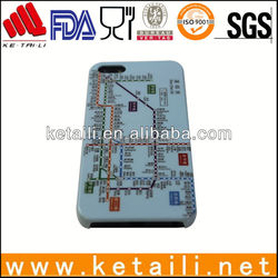 2014 New products Hong kong metro map phone cover for iphone 5