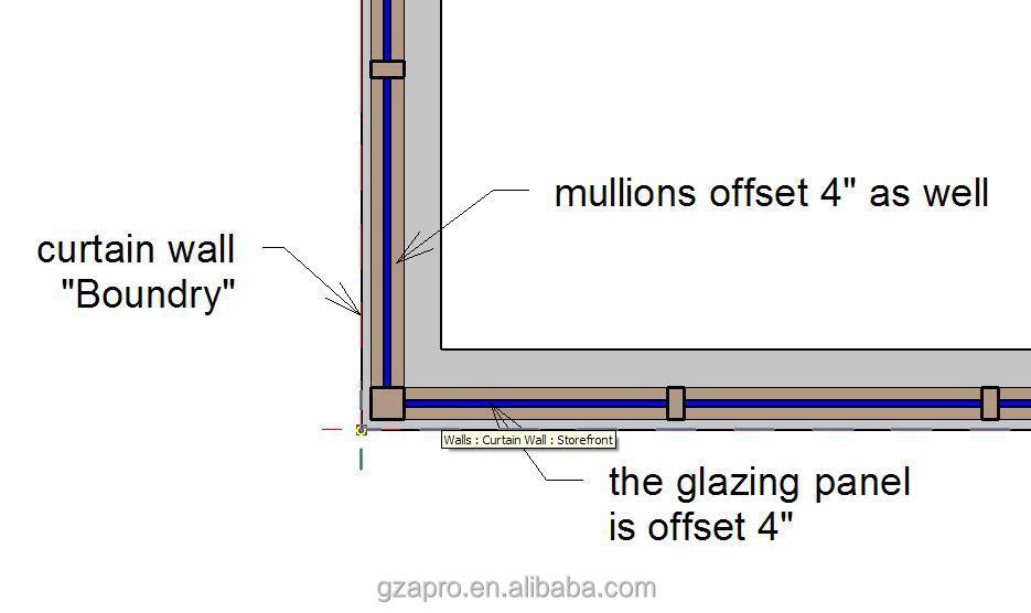 Glass Curtain Wall Panel Size : Glass curtain wall price facade panel alucobond aluminium