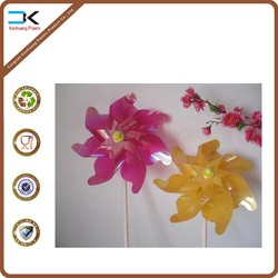 Wholesale pp plastic model windmill for decoration