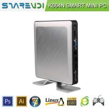 green X86 fanless mini computer Pentium J2900 Win 7/Win XP USB3.0