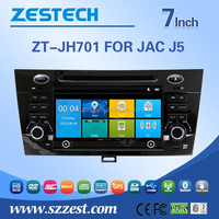 For JAC J5 car dvd player with dvd/cd/mp3/mp4/bluetooth/radio receive/rds/tv/gps/3g!