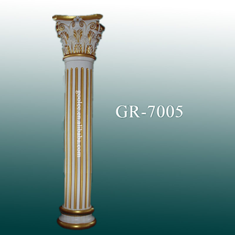 Column pillar design for home decorative fiberglass indoor for Decorative fiberglass columns