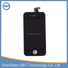 LCD display screen digitizer assembly with touch for iphone 4s parts, for apple new technology