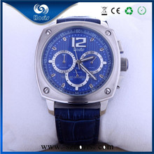 Top quality OEM Luxury stainless steel case Ronda movt winner watch flip top watches