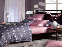 100% cotton reactive print new design china supplier textile european style bed sheet
