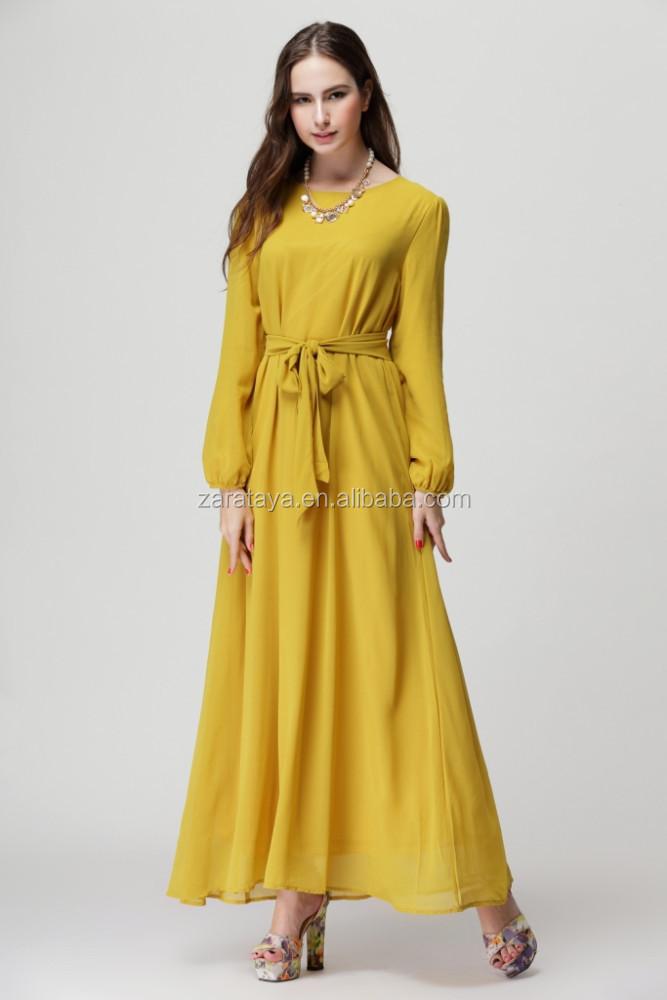 Wholesale middle east ethnic region 2013 new design modern dresses