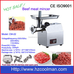 CM-22 hot sale electric beef meat mincer with CE
