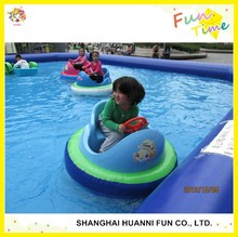Factory price PVC inflatable bumper boat for kids and adults