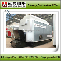 DZL series solid fuel coal/wood/pellet/biomass steam boiler for paper making/plastic chemical/dying and printing