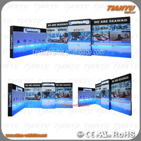 aluminum extrusion modular used trade show booth