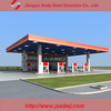China Steel Structure Gas Station Canopy Metal Roof