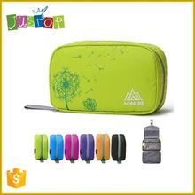 Justop Manufacturer Supply Fashion Travel Cosmetic Bag, Hanging Travel Toiletry Bag, Professional Makeup Bag