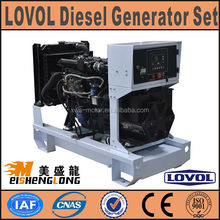 Hot sale! Diesel engine generator set genset CE ISO approved factory direct supply 12v dc mini generator manufacturers