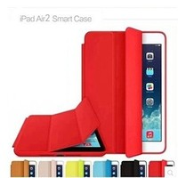 Official original 1:1Slim Leather Magnetic Smart Case Cover For iPad air 2
