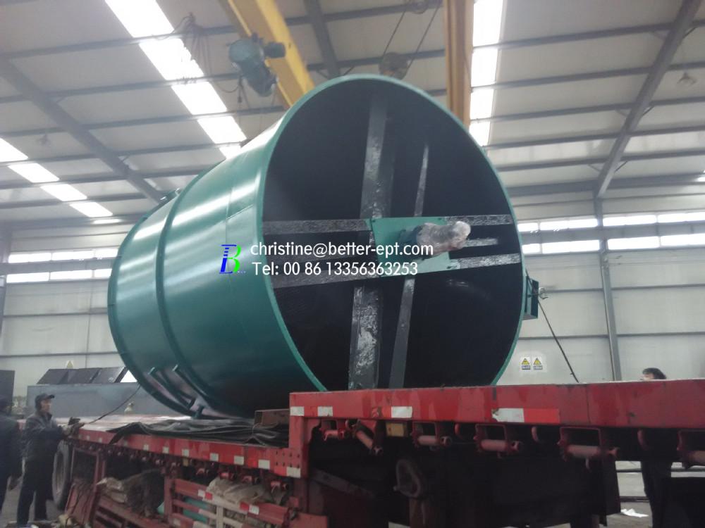 Circular Radical Flow Type DAF Dissolved Air Flotation Machine
