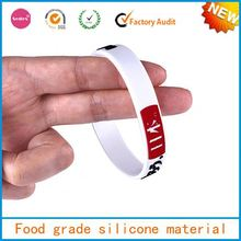 good rubber silicone wristband,custom embossed silicone wrist bands