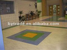 Marble fire proofing vinyl flooring roll pvc commercial flooring