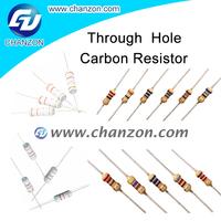 1/8W 1/6W 1/4W 1/2W 1W 2W 3W 5W Through Hole 5% 3.3kohm carbon film resistors