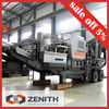 Zenith mining portable mounted impact crusher in the stone quarry plant azerbaijan