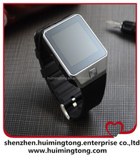 New Bluetooth Smart Watch DZ09 Smartwatch for iPhone 5/5S S4/Note 3 HTC Android Smart phones as Samsung gear 2 intelligent clock