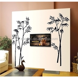 ZOOYOO bamboo for decoration Bamboo Wall Sticker frame picture interior wallpaper (9156)
