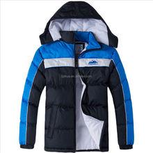 2015 Boys winter out wear ,boys sport jacket,cheap shinny boys winter jacket