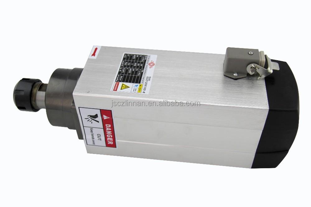 Cnc Servo Motor Kits 6kw Hsd Air Cooling Spindle Gdz120 103 6 Buy Air Cooling Spindle Hsd