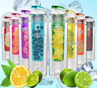 New designed fruit fusion water bottle
