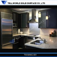 2012 Factory supply kitchen disign quality kitchen tops