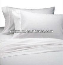 T200 plain bleached white hotel pillowcase/pillow cover
