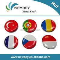 Wholesale custom flag tin pins badges